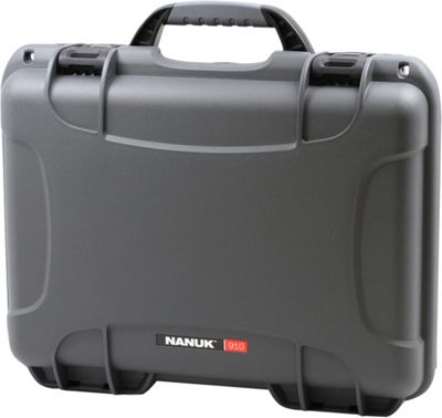 NANUK 910 Water Tight Protective Case Graphite - NANUK Camera Accessories