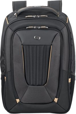 SOLO Pro Backpack Black - SOLO Computer Backpacks