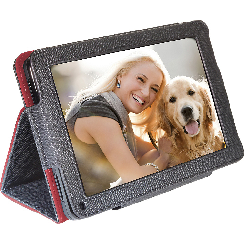 Digital Treasures Props Folio Case for Amazon Kindle Fire Black Digital Treasures Electronic Cases