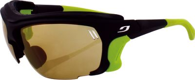 Julbo Trek - Zebra NXT Photochromic Lens Black / Lime Green - Julbo Sunglasses