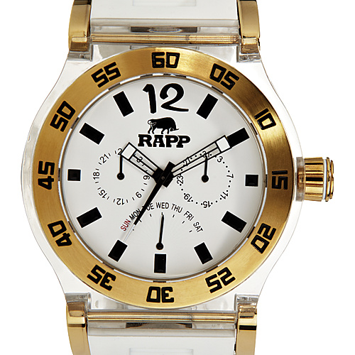 RAPP Watches Pink Naples Multi-Function Watch White Gold - RAPP Watches Watches