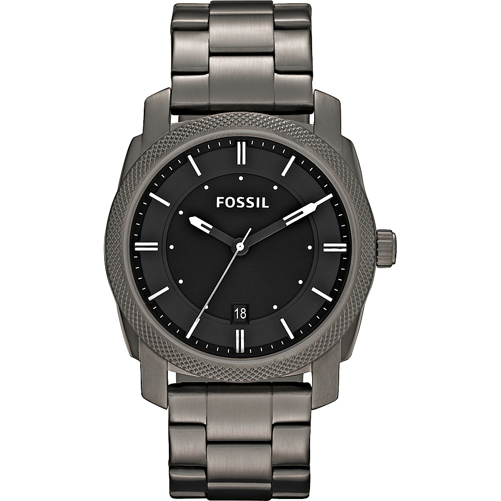 Fossil Machine Smoke IP - Fossil Watches - Fashion Accessories, Watches