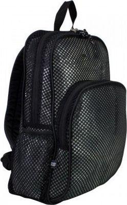 Eastsport Mesh Backpack - 17.5 inch Black - Eastsport Everyday Backpacks