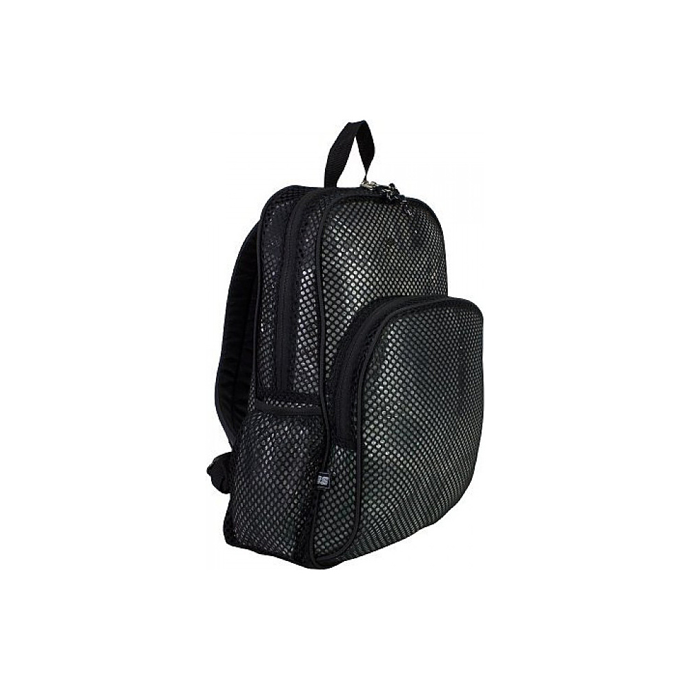 Eastsport Mesh Backpack Black Eastsport Everyday Backpacks