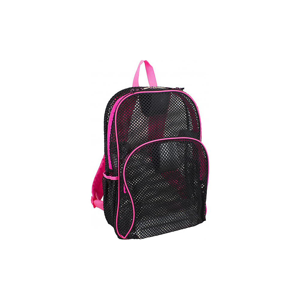 Eastsport Mesh Backpack Pink Sizzle Eastsport Everyday Backpacks