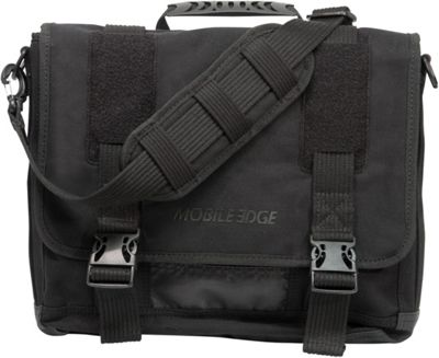 Mobile Edge Ultrabook Eco-Friendly Laptop Messenger - 14 inch/15 inch Mac Black - Mobile Edge Messenger Bags