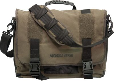 Mobile Edge Ultrabook Eco-Friendly Laptop Messenger - 14 inch/15 inch Mac Olive - Mobile Edge Messenger Bags