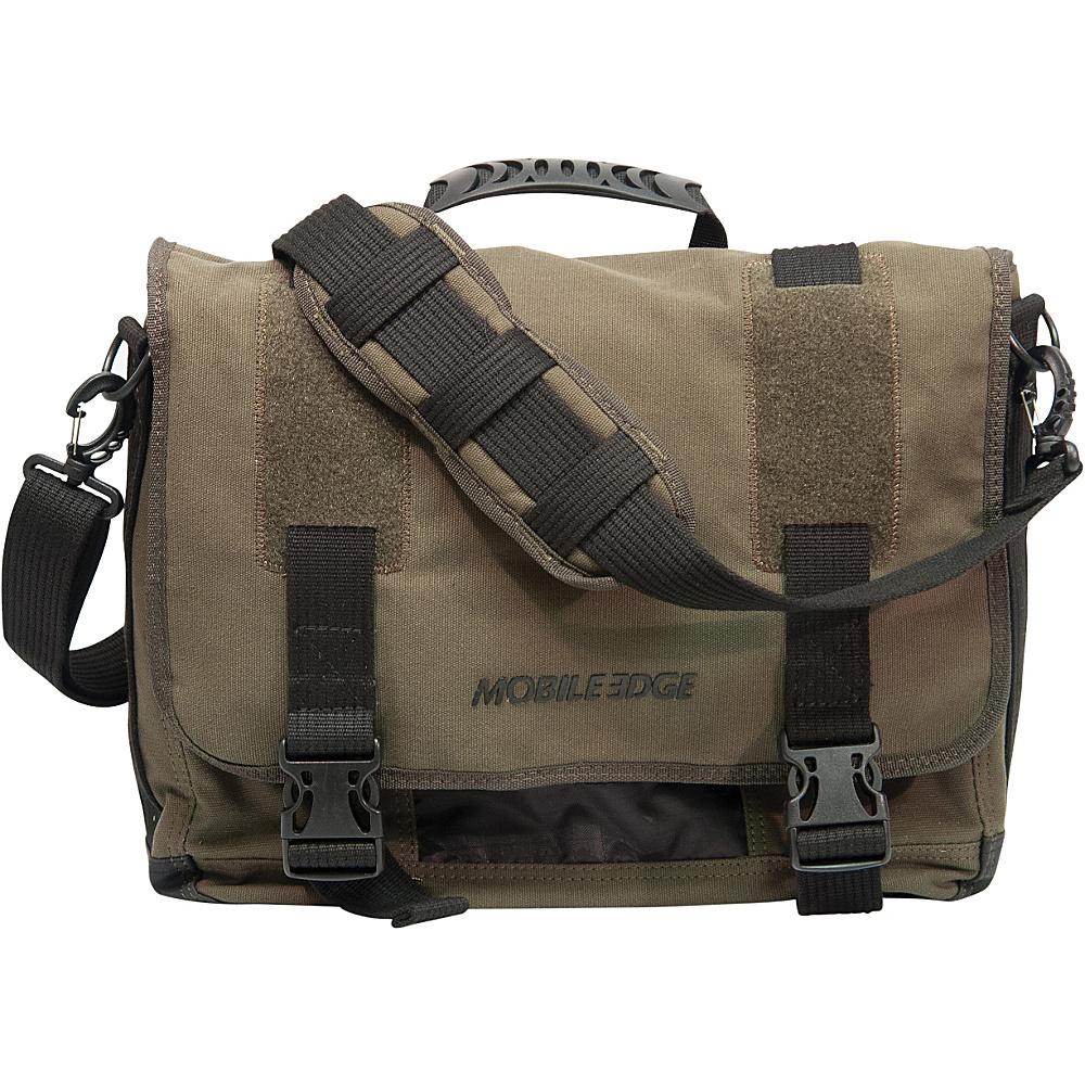"Mobile Edge Ultrabook Eco-Friendly Laptop Messenger - 14""/15"" Mac Olive - Mobile Edge Messenger Bags"