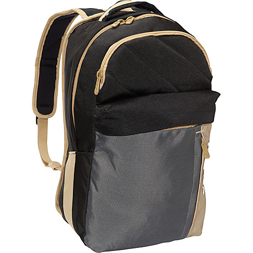 Volcom Prohibit Polyester Backpack Black Charcoal - Volcom Laptop Backpacks