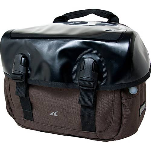 Detours Sodo Handlebar Bag Ground Herringbone - Detours Cycling Bags