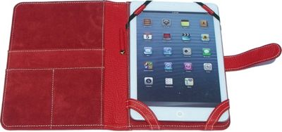 pb travel Luxury Leather Kindle Cover Red - pb travel Laptop Sleeves