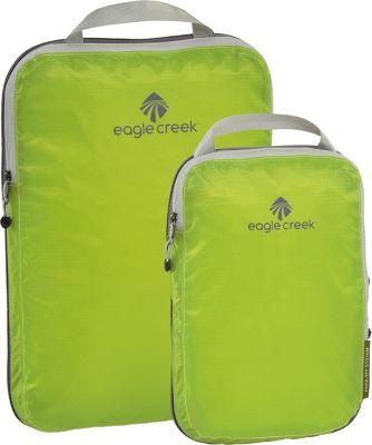 Eagle Creek Pack-It Specter 2-Piece Compression Cube Set Strobe Green - Eagle Creek Travel Organizers