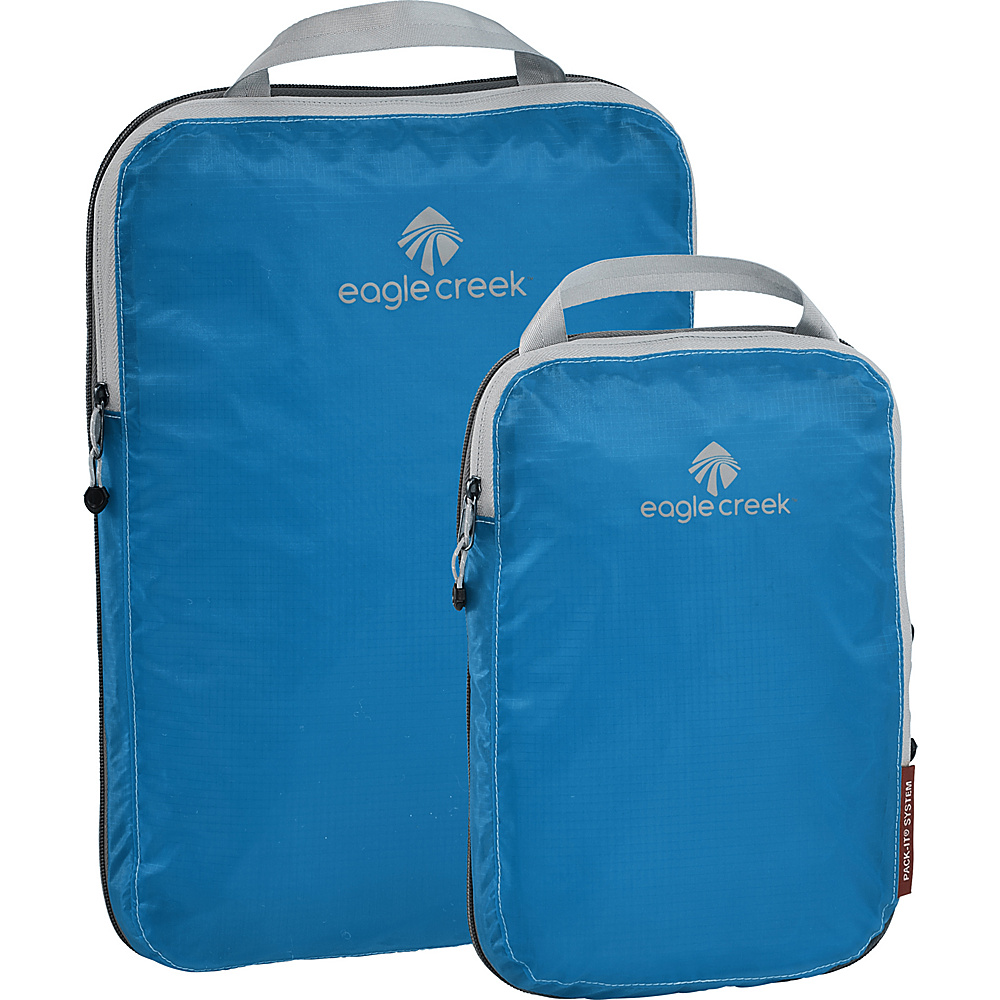 Eagle Creek Pack-It Specter 2-Piece Compression Cube Set Brillant Blue - Eagle Creek Travel Organizers - Travel Accessories, Travel Organizers