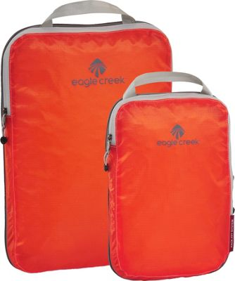 Eagle Creek Pack-It Specter Compression Cube Set Flame Orange - Eagle Creek Packing Aids