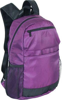 Netpack U-zip 18 inch Ballistic nylon backpack Purple - Netpack Packable Bags