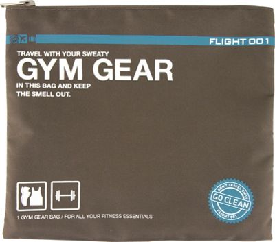 Flight 001 Go Clean Gym Gear Charcoal - Flight 001 Packing Aids