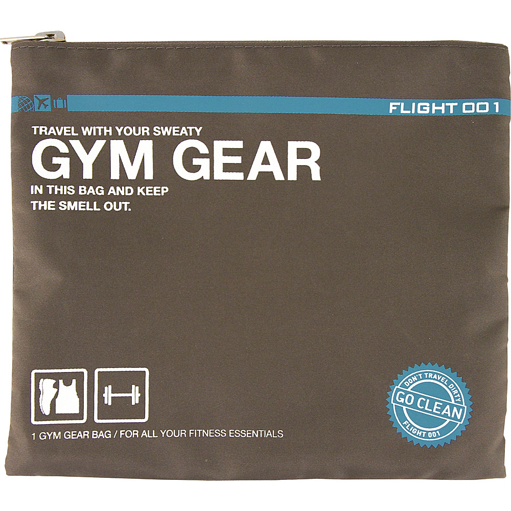 Flight 001 Go Clean Gym Gear Charcoal Flight 001 Travel Organizers