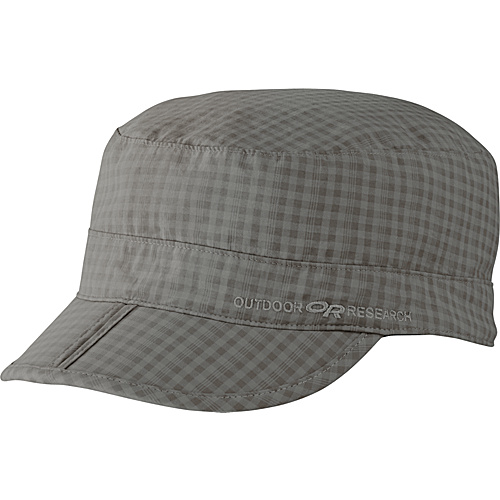 Outdoor Research Radar Pocket Cap Sandstone Check - Small - Outdoor Research Hats