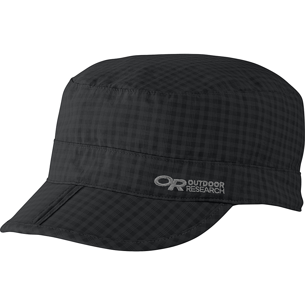 Outdoor Research Radar Pocket Cap M - Black Check - Large - Outdoor Research Hats/Gloves/Scarves - Fashion Accessories, Hats/Gloves/Scarves