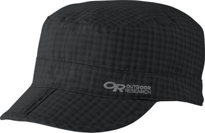 Outdoor Research Radar Pocket Cap XL - Black Check - Large - Outdoor Research Hats/Gloves/Scarves