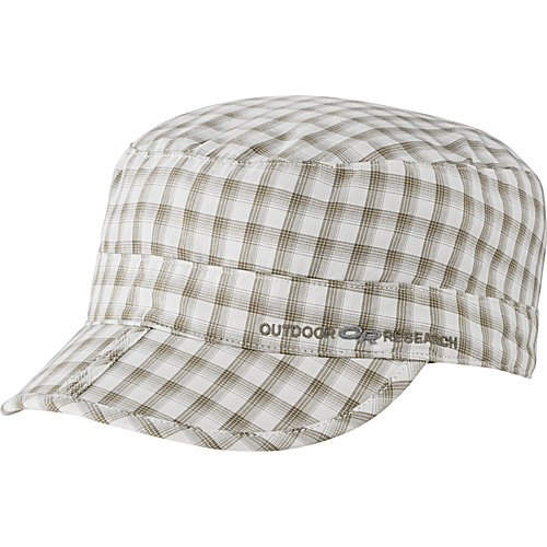 Outdoor Research Radar Pocket Cap Walnut Plaid - Large - Outdoor Research Hats