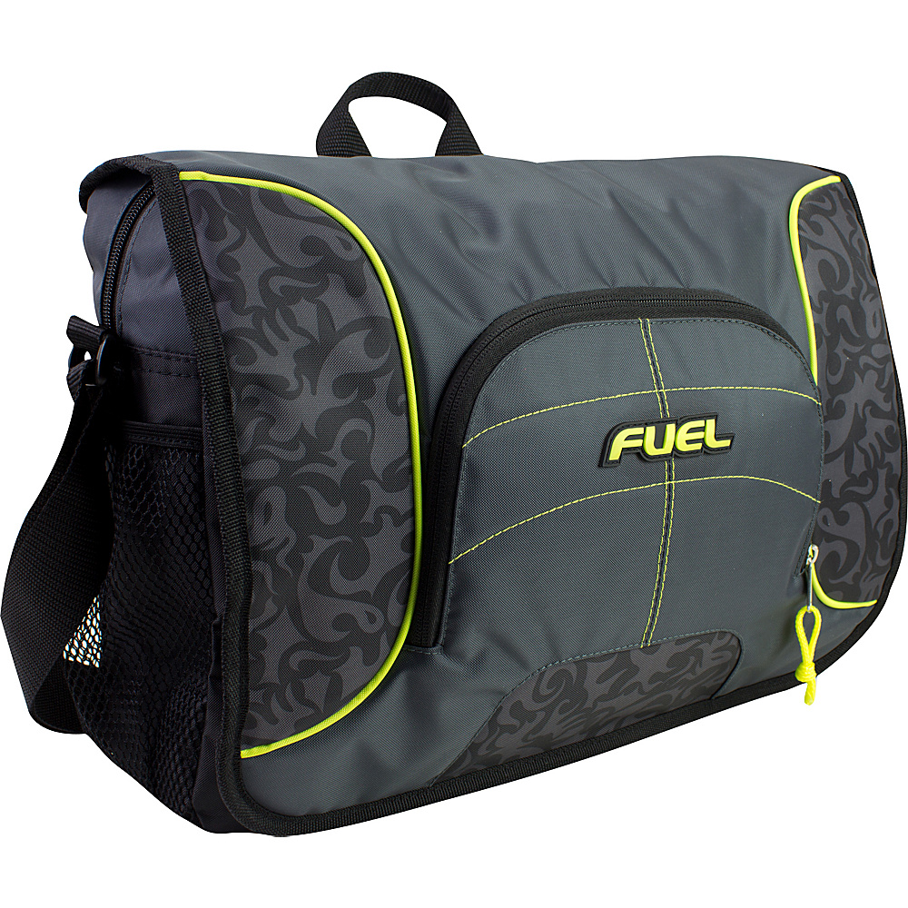 Fuel Messenger Soft Brief bag Tribal Print Fuel Messenger Bags
