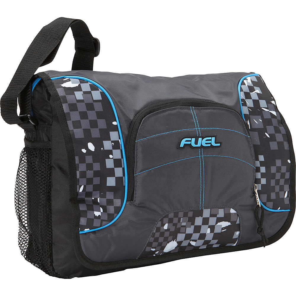 Fuel Messenger Soft Brief bag Graphite Block Fuel Messenger Bags