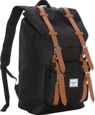 Herschel Supply Co. Little America Mid-Volume Laptop Backpack - 13 inch Black - Herschel Supply Co. Business & Laptop Backpacks