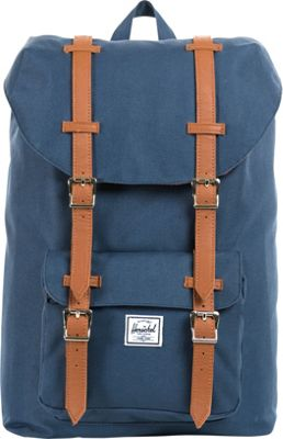 Herschel Supply Co. Little America Mid-Volume Laptop Backpack - 13 inch Navy - Herschel Supply Co. Business & Laptop Backpacks