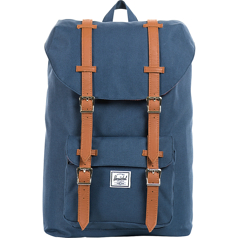 Herschel Supply Co. Little America Mid Volume Laptop Backpack Navy Herschel Supply Co. Business Laptop Backpacks
