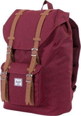 Herschel Supply Co. Little America Mid-Volume Laptop Backpack - 13 inch Windsor Wine - Herschel Supply Co. Business & Laptop Backpacks
