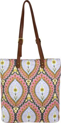 Amy Butler for Kalencom Carmen Tote Imperial Paisley Cosmos - Amy Butler for Kalencom Fabric Handbags
