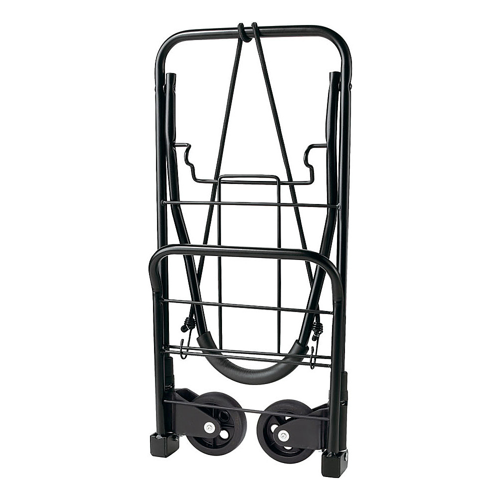Travel Smart by Conair Flat Folding Multi-Use/Luggage Cart Black - Travel Smart by Conair Luggage Accessories