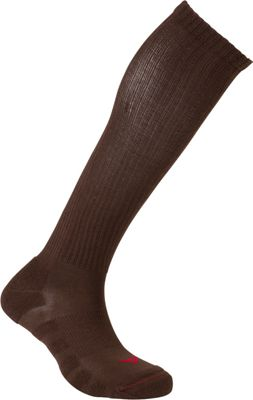 Image of Active Energy Travel Compression Cushioned OTC Socks Brown - Active Energy Travel Comfort and Health