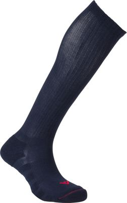 Image of Active Energy Travel Compression Cushioned OTC Socks Navy - Active Energy Travel Comfort and Health