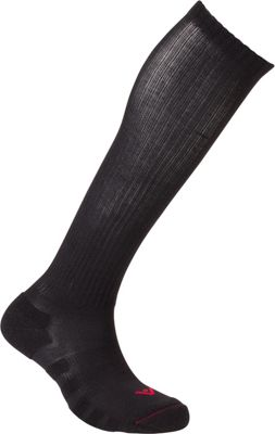 Image of Active Energy Travel Compression Cushioned OTC Socks Black - Active Energy Travel Comfort and Health
