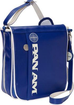 Pan Am Originals - Uni Bag Reloaded Pan Am Blue/Vintage White - Pan Am Messenger Bags