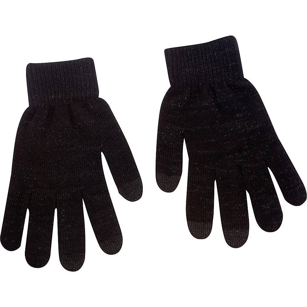 Magid Lux Touch Screen Gloves Black Magid Hats Gloves Scarves
