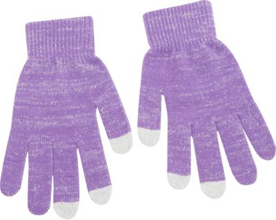 Magid Lux Touch Screen Gloves Purple - Magid Hats/Gloves/Scarves