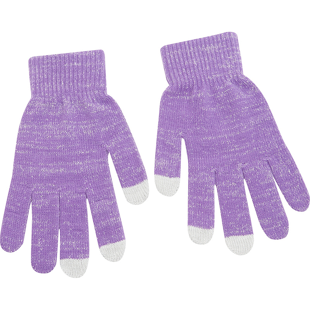 Magid Lux Touch Screen Gloves Purple Magid Hats Gloves Scarves