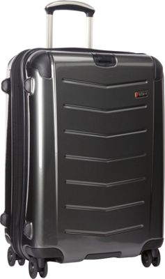 Ricardo Beverly Hills Rodeo Drive 25 inch 4-Wheel Exp Upright Anthracite - Ricardo Beverly Hills Hardside Checked
