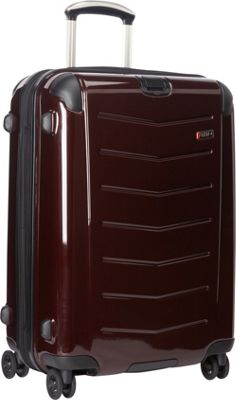 Ricardo Beverly Hills Rodeo Drive 25 inch 4-Wheel Exp Upright Black Cherry - Ricardo Beverly Hills Hardside Checked