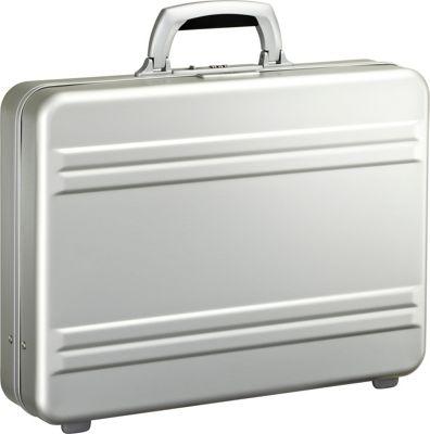 Zero Halliburton Slim line 4 inch Aluminum Attache Silver