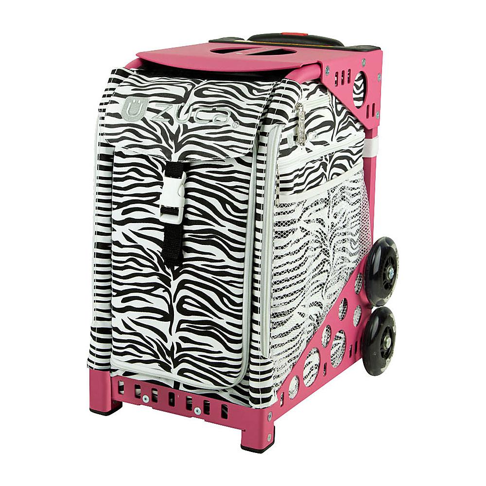 ZUCA Sport Artist Zebra Pink Frame Zebra Pink Frame ZUCA Softside Checked