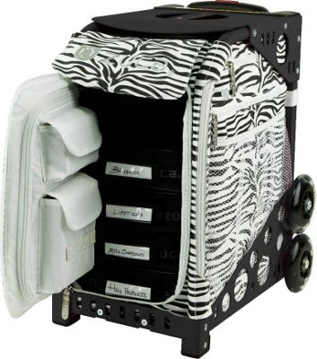 ZUCA Sport Artist Zebra/Pink Frame Zebra - Pink Frame - ZUCA Softside Checked