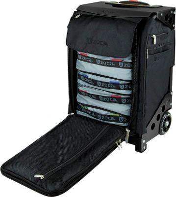 ZUCA Flyer Travel Black/Black Frame Black - Black Frame - ZUCA Softside Carry-On