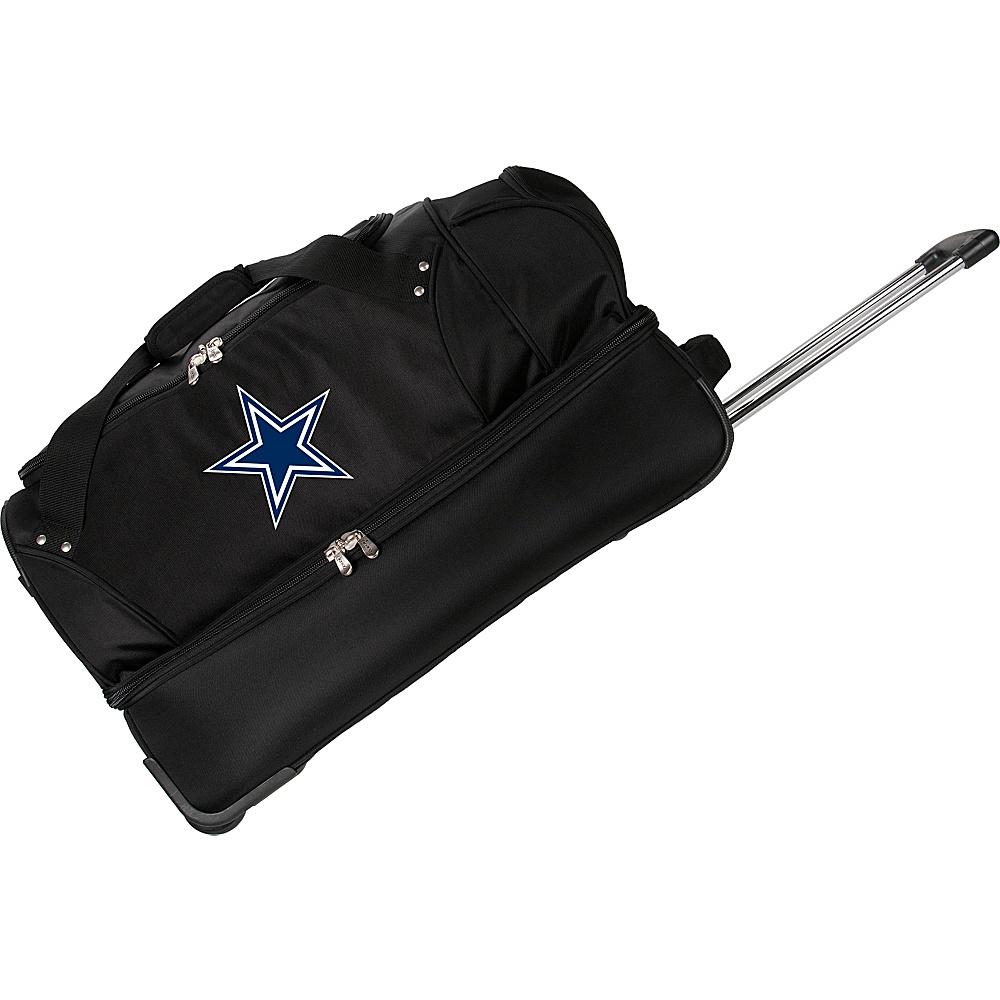 Denco Sports Luggage NFL 27 Drop Bottom Wheeled Duffel Bag Dallas Cowboys - Denco Sports Luggage Rolling Duffels - Luggage, Rolling Duffels