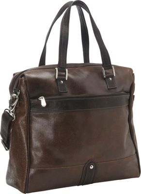 Piel Vintage Leather Travel Tote Vintage Brown - Piel Luggage Totes and Satchels
