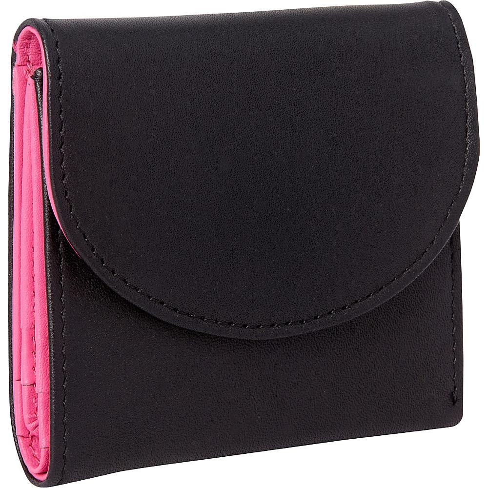 Royce Leather RFID Blocking Ladies Wallet Wild Berry - Royce Leather Ladies Small Wallets