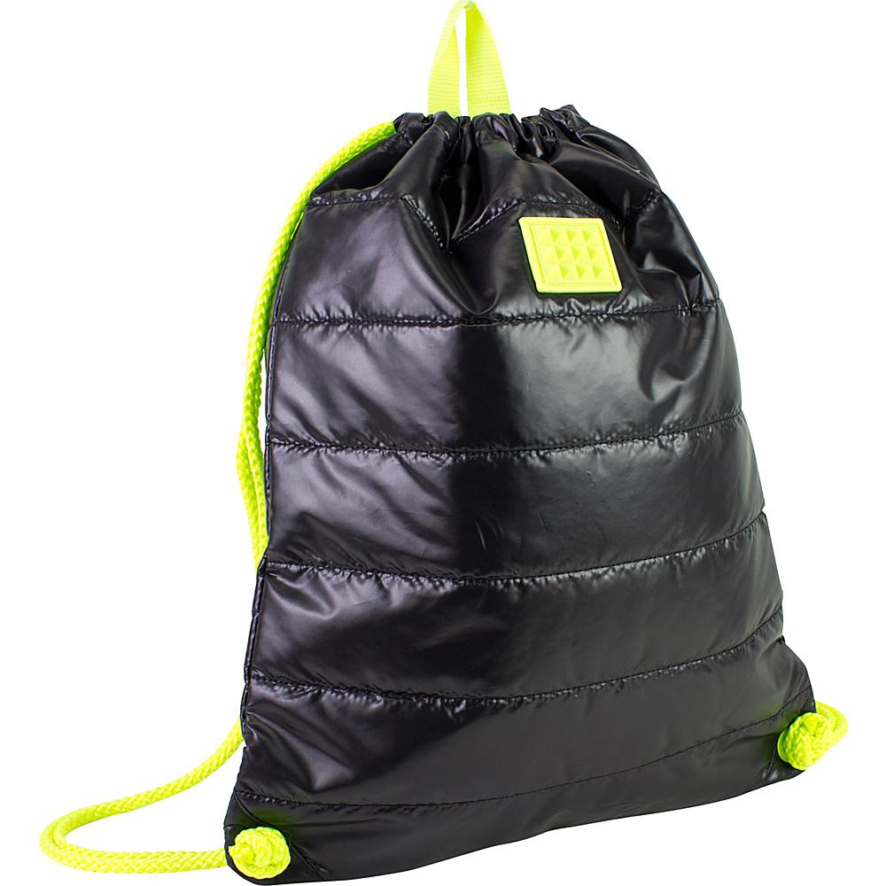 Fuel Neon Sling Bag Black - Fuel Everyday Backpacks